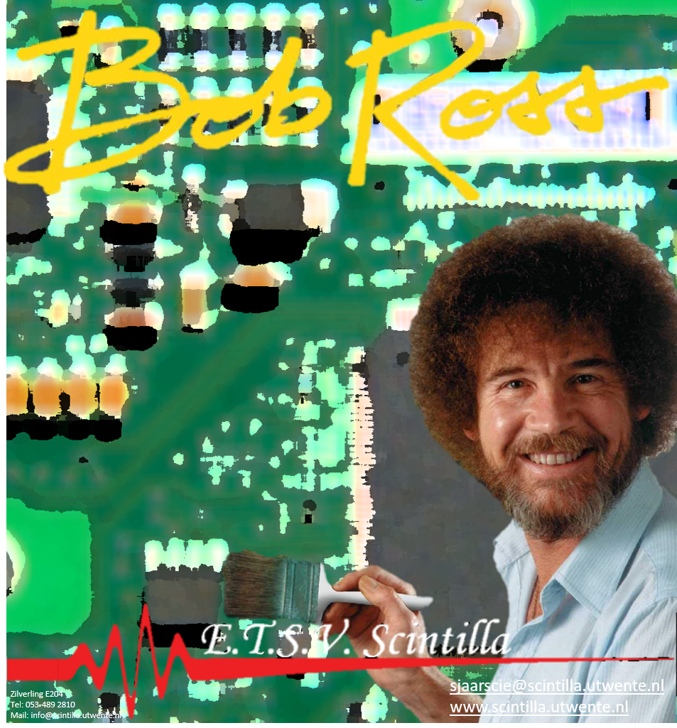 Sjaarscie's Bob Ross Poster