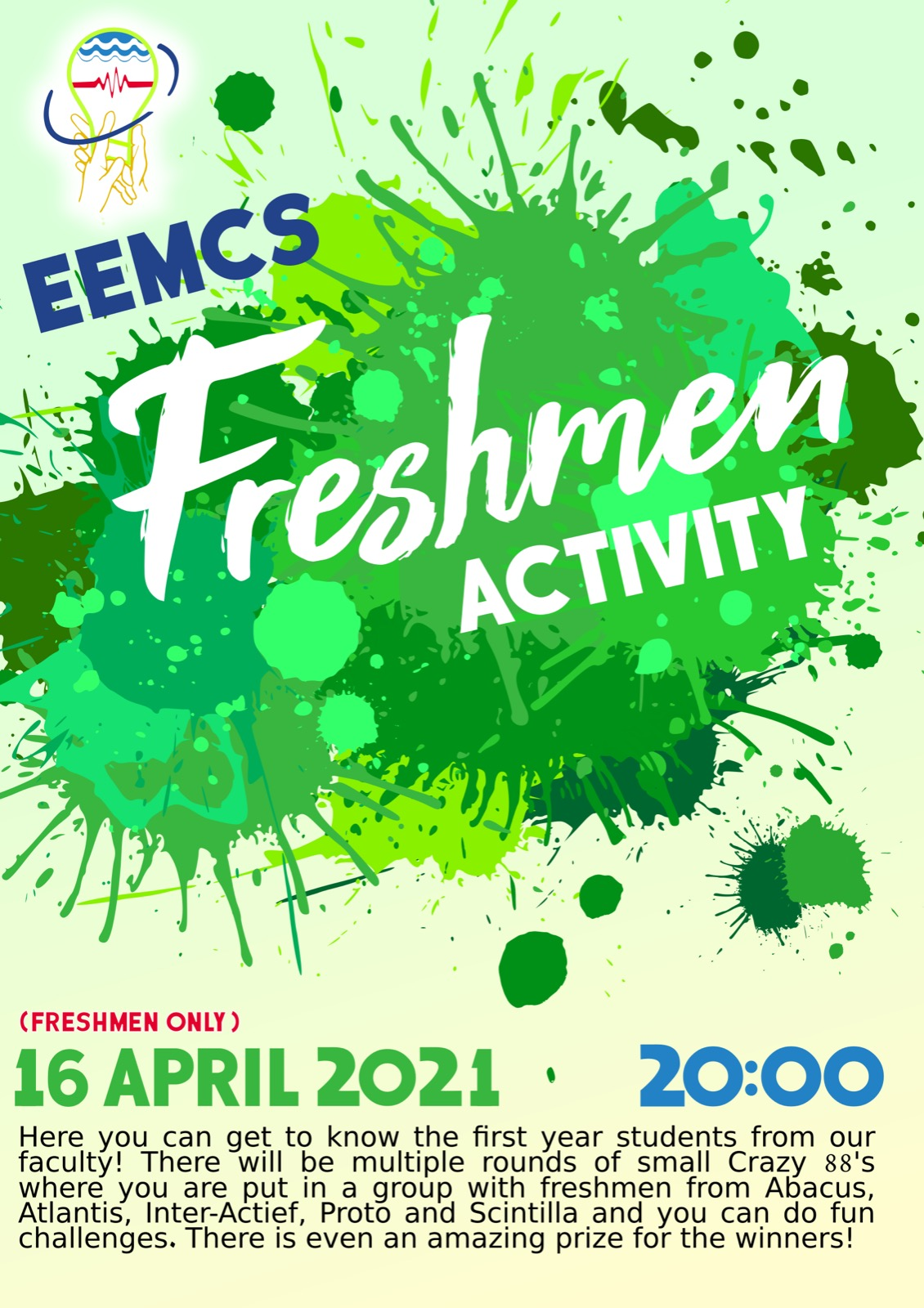 EEMCS Sjaarscie Freshman Activity