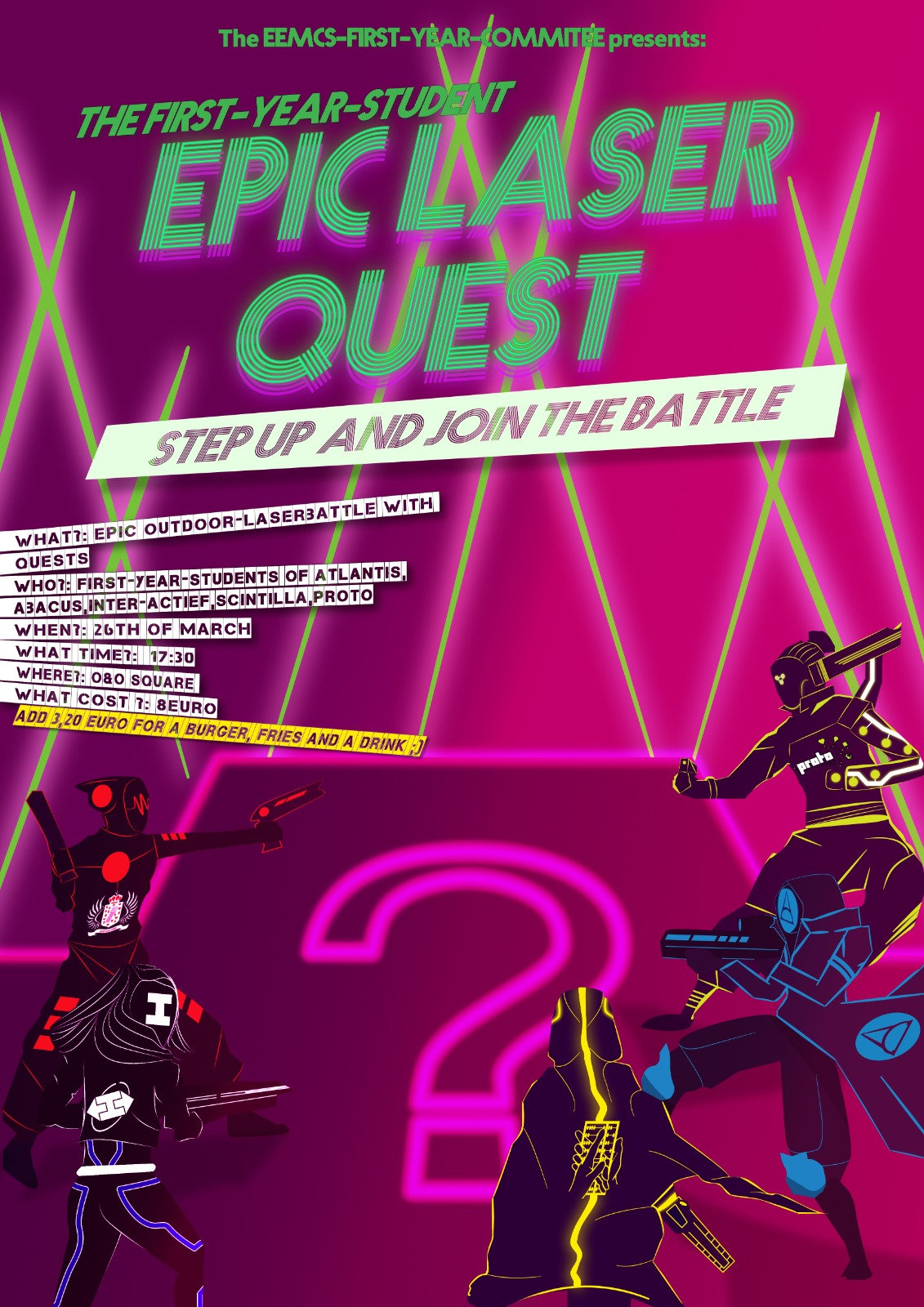 poster from Epic Lazer Quest